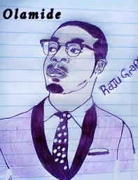 celebrities pen sketching olamide phyno tiwa photo