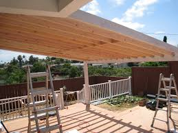 Deck Roof Ideas Home Decorating - wooden patio roof streamrr com
