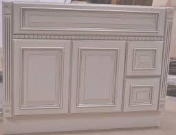 Heritage Bathroom Vanities by 42 Inch Heritage Ivory White Fluted Bathroom Vanity Right
