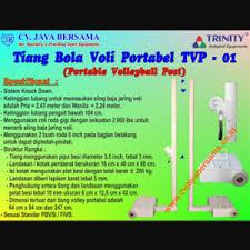 Keranjang Bola Volly jual tiang bola voli portable tvp 01 harga murah semarang oleh cv