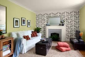 dark green accent wall in living room living room design ideas