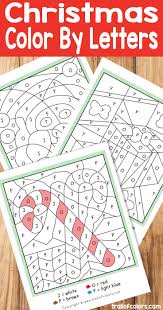 simple christmas ornaments coloring kids trail colors