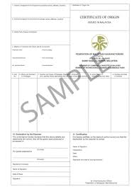 letter of certification of employment template non preferential certificate of origin certificate of origin forms