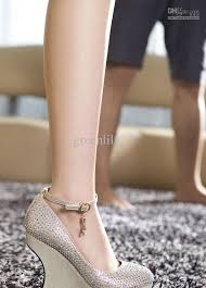wedding shoes philippines 2012 autumn wedding shoes for wedge heel with rhinestone