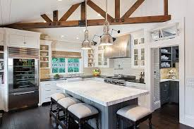 traditional kitchen with glass panel u0026 soapstone counters zillow