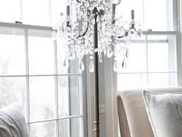 making a chandelier floor lamps stunning floor lamp chandeliers restoration hardware
