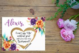 cards to ask bridesmaids 12 ways to pop the question to your bridesmaids intimate