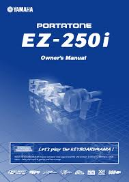 yamaha ez 250i user manual