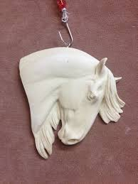 new mold original sculpture resin andalusian horse christmas