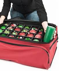 christmas ornament storage santa s bag 3 tray christmas ornament storage bag tree classics