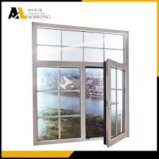 Casement Window by Double Glazed Aluminum Casement Window With Grill Design China