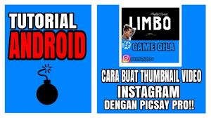 cara membuat instagram renhard cara membuat thumbnail untuk video instagram youtube