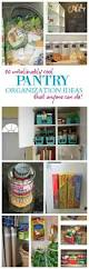 pantry organization ideas that anyone can do