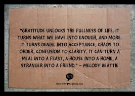 happy thanksgiving give gratitude in abundance