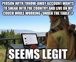 Table Throw Meme - hackers attack ndp leadership convention online voting harper s
