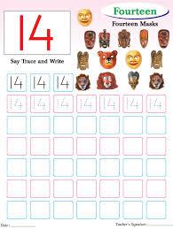 numbers writing practice worksheet 14 download free numbers