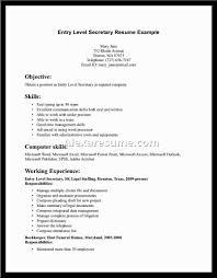 Legal Secretary Duties Resume Cover Letter Junior Secretary Resume Junior Secretary Resume