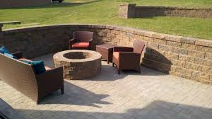 Paver Patio With Retaining Wall by Tennessee Craftsmen Outdoor Rooms