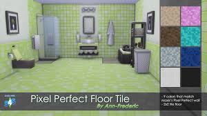 mod the sims pixel perfect floor tile match maxis u0027s wall