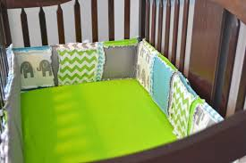 Baby Crib Bumpers Blue Crib Bumper Pads Creative Ideas Of Baby Cribs