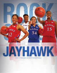 2013 14 kansas women u0027s basketball guide by kansas jayhawks issuu
