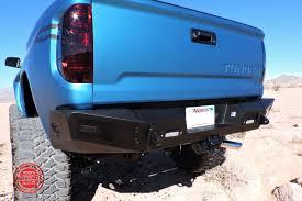 nissan tundra custom 2014 up toyota tundra honeybadger rear bumper w backup sensor