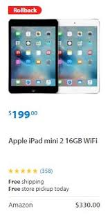 amazon ipad mini 2 black friday is walmart actively deal shaming its competitors slickdeals net