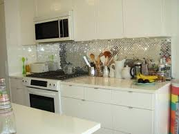 Metal Backsplash Tiles For Kitchens Lowes Metal Backsplash Tiles Kitchen Tile Peel And Stick Tile Grey
