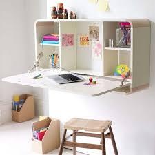 meuble bureau fermé avec tablette rabattable fabriquer un bureau soi même 22 idées inspirantes