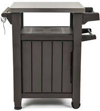 patio cabinet prep station back yard food serving counter deck bbq