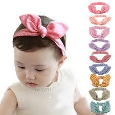 baby girl hair bands free size 9pcs bowknot headbands for baby coxeer elastic