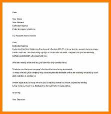 sample attorney letter to debt collector docoments ojazlink