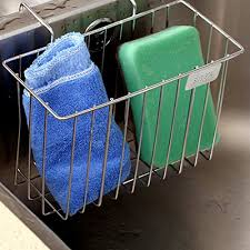 Kitchen Sink Soap And Sponge Holder by Kitchen Sponge Holder Aiduy Sink Caddy Brush Soap Dishwashing