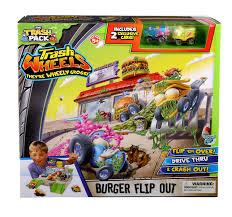 amazon trash pack wheels burger flip playset toys u0026 games