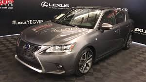 lexus used certified lexus certified pre owned gray 2015 ct 200h f sport package review