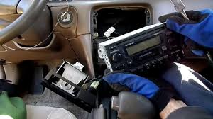 toyota camry radio removal youtube