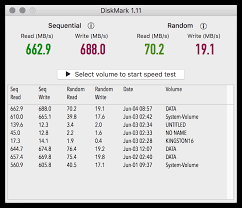 Hard Drive Bench Mark Diskmark Ssd Flash Hard Disk Drive Speed Test For Macos