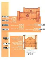 casa del sol rustic home furniture and western decor rustic texas star beds