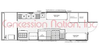 Warehouse Floor Plan Template Floorplans Food Trucks Fast Food Truck Mobile Kitchens