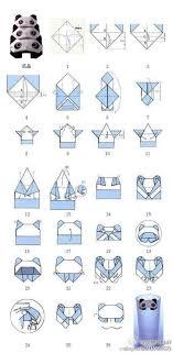 14 best panda images on oragami origami