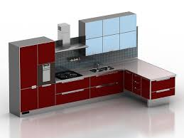 Kitchen Cabinet 3d Modern Kitchen Cabinet 3d Model 3dsmax 3ds Files Free