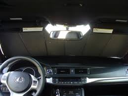lexus ct200 custom covercraft uvs100 custom fit sunshade review