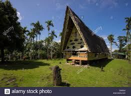 Traditional House Oceania Palau Babeldaob Men U0027s House Traditional House Of Bai