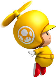 image propeller yellow toad png super mario bros wiki