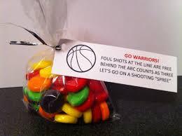 treat bag for basketball team craft ideas pinterest