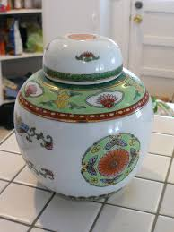vintage chinese ginger jar made in china