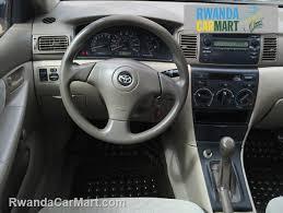 toyota corolla sedan 2003 used toyota mid sized sedan 2003 2003 toyota corolla ce rwanda