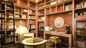 modern home library interior design impressive tidy library room in home art interior design penaime