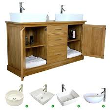 solid wood bathroom vanity units double vanity unit solid oak