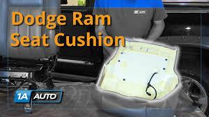 dodge dakota seat foam how to install replace drivers side seat cushion 2008 dodge ram